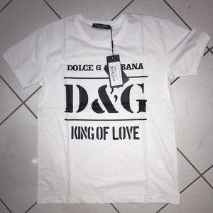 Dolce & Gabbana Casual T-shirt Men's Short Sleeve